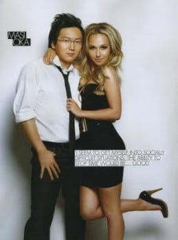 Masi Oka and Hayden Panettiere talk Heroes season 4