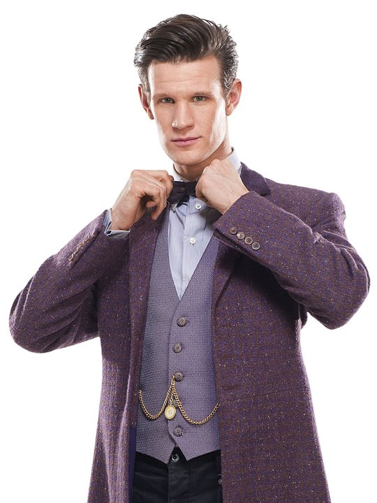 Matt Smith as 'Doctor Who'