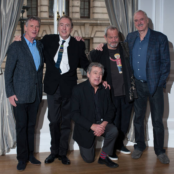 The Monty Python comedy troupe