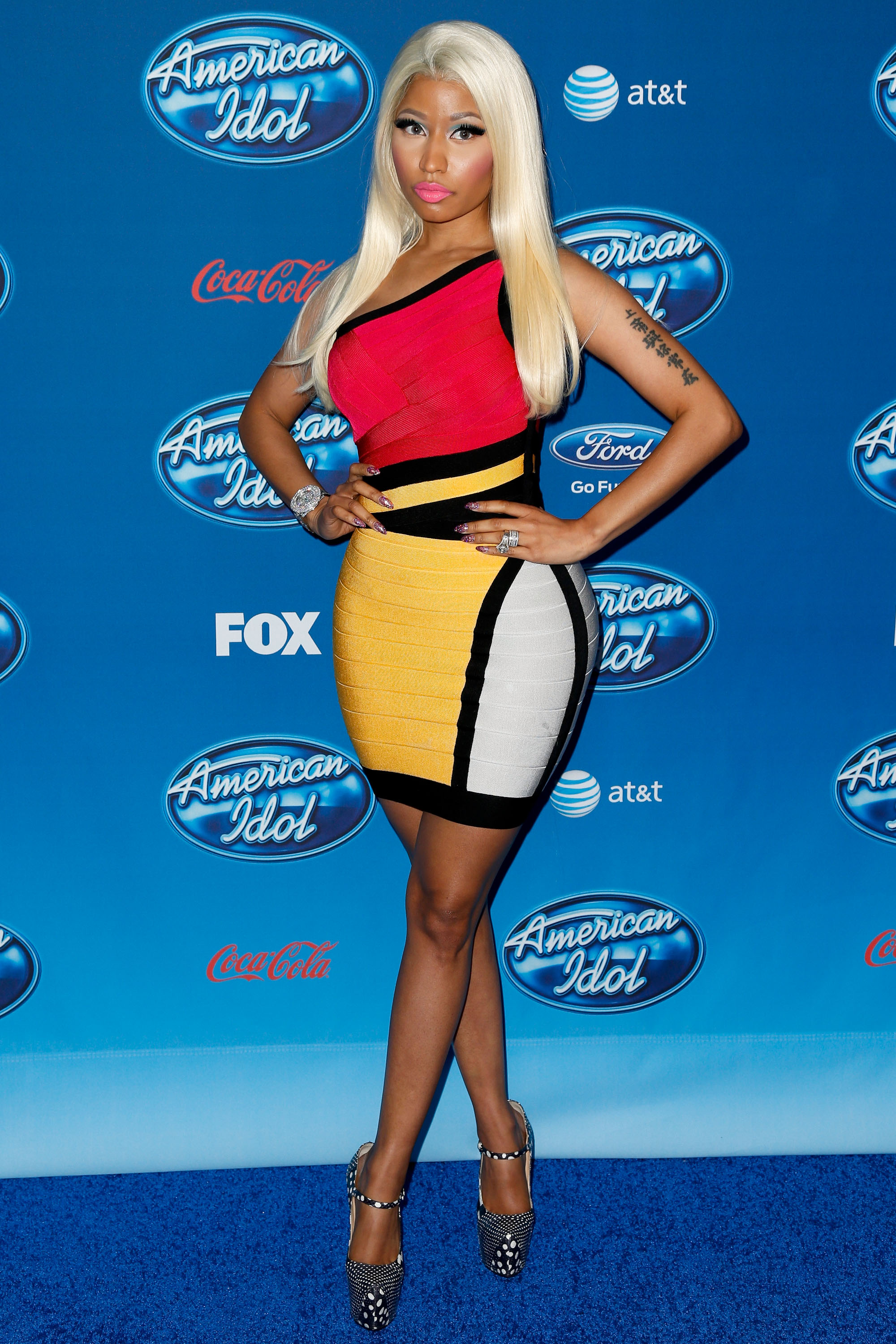 Nicki minaj no complaints about idol tv envy nicki minaj voltagebd Gallery