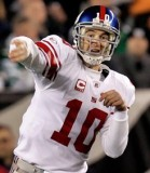 Eli Manning of the NY Giants