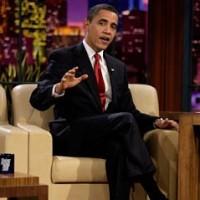 President Barack Obama on The Tonight Show