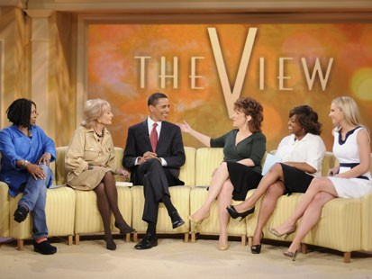 Barack Obama on The View