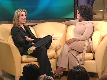 Tatum O'Neal with Oprah