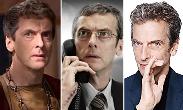 Peter Capaldi in 'Doctor Who' and 'Torchwood'