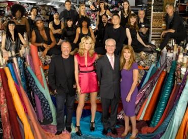 Project Runway's Season 5 cast