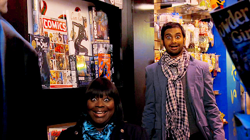 Retta and Aziz Ansari on 'Parks and Recreation'