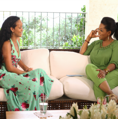 Rihanna and Oprah