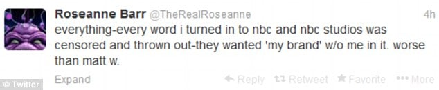 Roseanne Barr's Twitter
