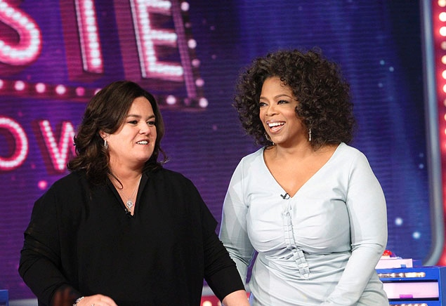Rosie O'Donnell and Oprah