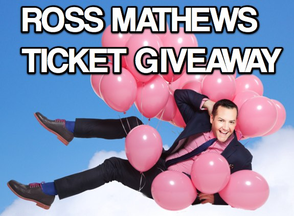 Ross Mathews ticket giveaway