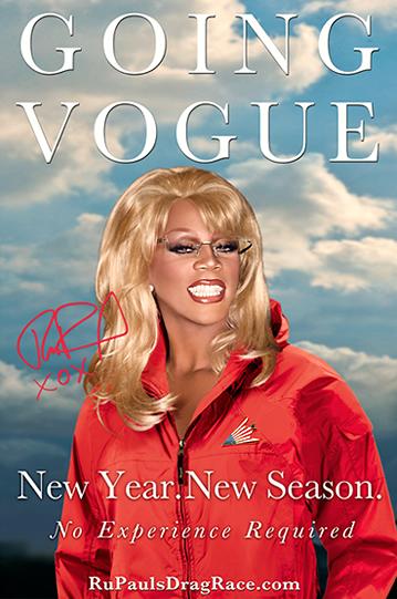 RuPaul Going Vogue