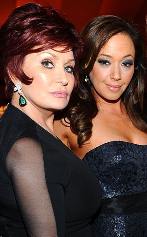 Sharon Osbourne and Leah Remini