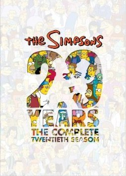 The Simpsons Season 20 DVD