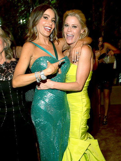Sofia Vergara and Julie Bowen