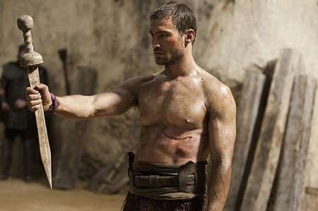 Andy Whitfield in Spartacus