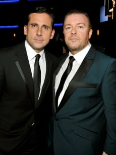 Steve Carell and Ricky Gervais