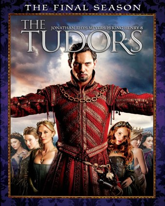 The Tudors final season DVD