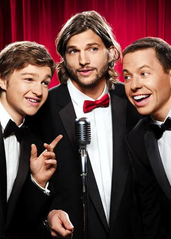 The current Two and a Half Men cast