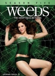 Weeds Season 5 DVD