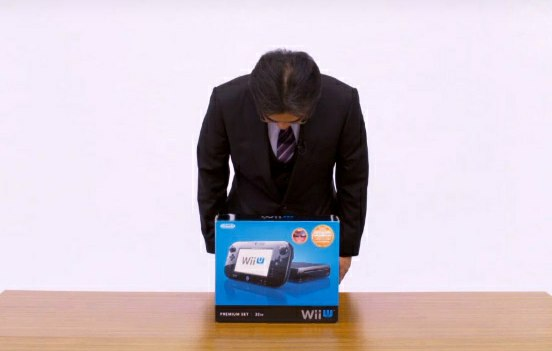 Wii U unboxing
