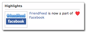 Facebook Acquires FriendFeed