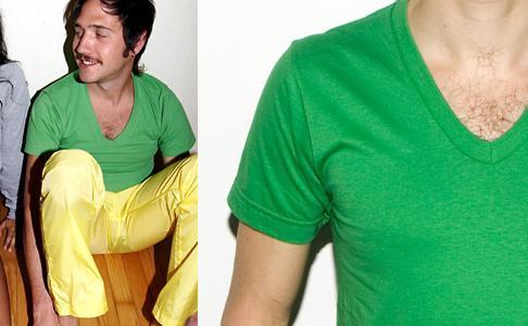American Apparel V-neck Shirts
