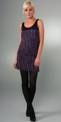 LaROK flirty fringe dress