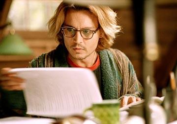 Depp as Writer Boyfriend
