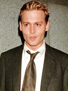 Depp as Blond Boyfriend